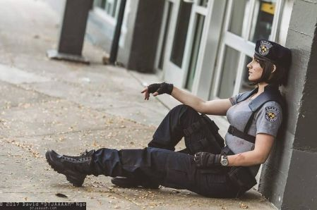 Cosplay Resident Evil Jill Valentine 01